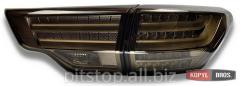 BMW optics style back LED black / Led taillights
