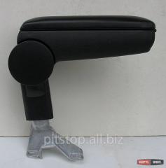 ASP armrest in regular fastenings black vinyl VW