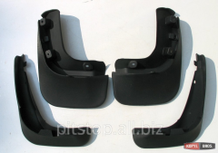 Mudguards front and back / front and rear mudflaps