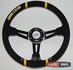 ASP Drifting wheel black suede ASP-SUE-DRI-BL