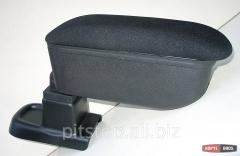 Botec armrest black textile Opel Corsa D 64308TB