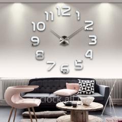 Big wall clock of S002-S Ø of 70-130 cm