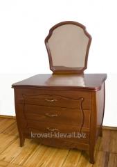 Dresser Lviv, wooden with a mirror