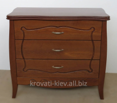 Dressers from a tree with a carving Kryvyi Rih