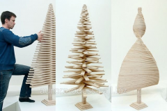 Products from plywood decorative for the house,