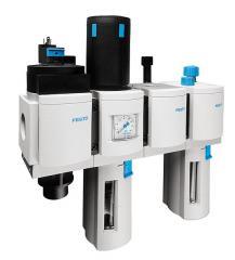 Устройство подготовки воздуха, комбинация, MSB4-1/4:C1J1D1A1F3-WP,531062.