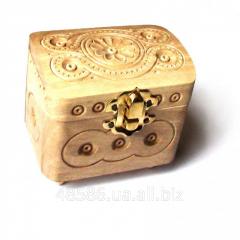 Casket small wooden C053