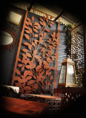 Zd panels for the house on walls, a decor of an