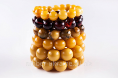 Jewelry of amber - a beads, pendents, beads.