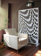 Screens from MDF, decorative partitions internal