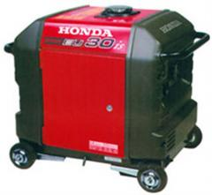 Gasoline-driven generator of average power...