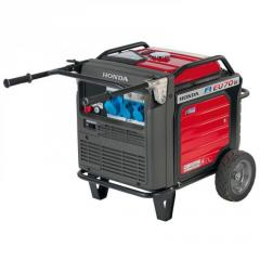 The HONDA EU 70 IS generator for the house, ...
