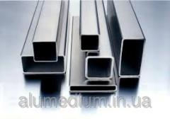 Pipe aluminum profile 100х20х2,0/bp.