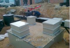 Installation of sewage treatment