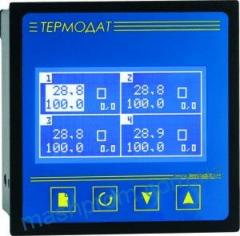 Termodat-17M5 - the four-channel measuring