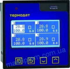 Termodat-17M6 - the four-channel measuring