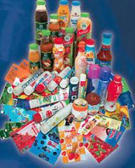 Labels are full-color thermoshrinkable, labels