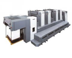 Листовые офсетные печатные машины Индустриального класса SHINOHARA 66 формата А2 (508 x 660 мм), выпускаются в - 2; - 4; -5; - 6 и - 8 цветным комплектации. Продажа Украина