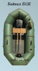 Rubber inflatable boat Baikal 1.5 BTsK