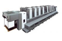 Sheet offset printing machines of the Industrial