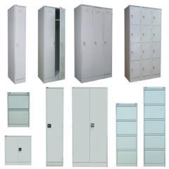 Металлическая офисная мебель: шкафы, картотеки