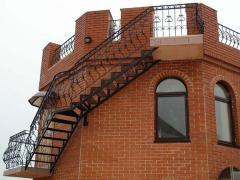 Ограждения балконов, лестниц