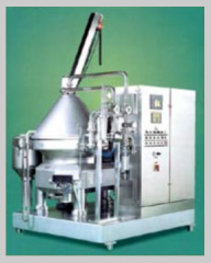Separators centrifugal for wine materials