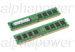 Random access memory. DDR2 2GB KVR800D2N6 800Mhz