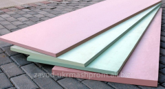 Heat-insulating material from fiber glass