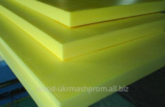 Hydro-heat-insulating materials from fiber glass
