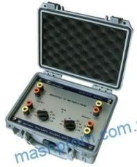 Simulator calibrator of thermoconverters mk3002