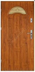 Двери входные 48 wenus roco - czarny diament