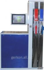 Column fuel-dispensing commercial Broadcasting