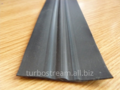 The free bar flat, width is 60 mm. black.