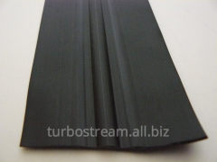 The free bar flat, width is 70 mm. black.