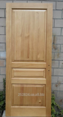 Doors from a pine