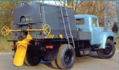 Термос-бункеры для литого асфальта ОРД-1023,