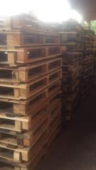 Поддоны грузовые деревянные