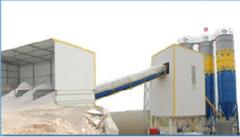 Concrete mixers, betonomeshatelny complexes