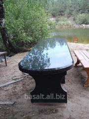 Стол с базальта