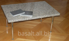 Table from a stone - ligh