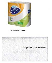 Туалетная бумага 100% paper 4 рул 482 0023743991
