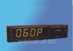 Tachometer Multitronics DD 5 processor.
