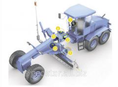 Система нивелирования для автогрейдера МОВА