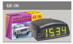 BK-06 — an electronic tachometer and the on-board