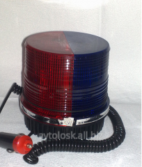 Flasher stroboscope 2kh color blue-red 12B. Code:
