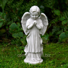 Angel, a sculpture from granite and marble