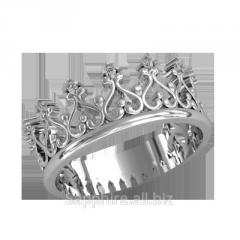 Silver ring Corona.