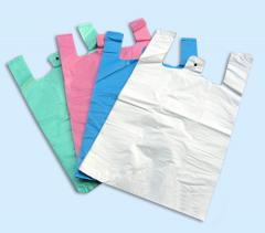 Type plastic bag undershir