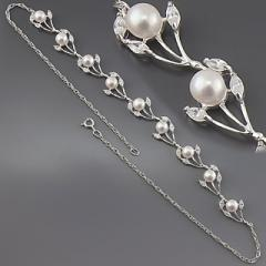 Necklace art. 167020 it is made of test silver